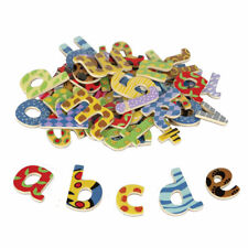 Baby Toy Nice Set of 10 Number Toddler Early Learning Wooden Fridge Magnets W1E