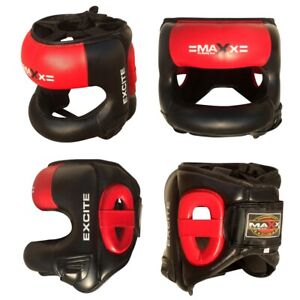 TurnerMAX Boxing Head Guard with Face Masked MMA Headgear Protection Helmets