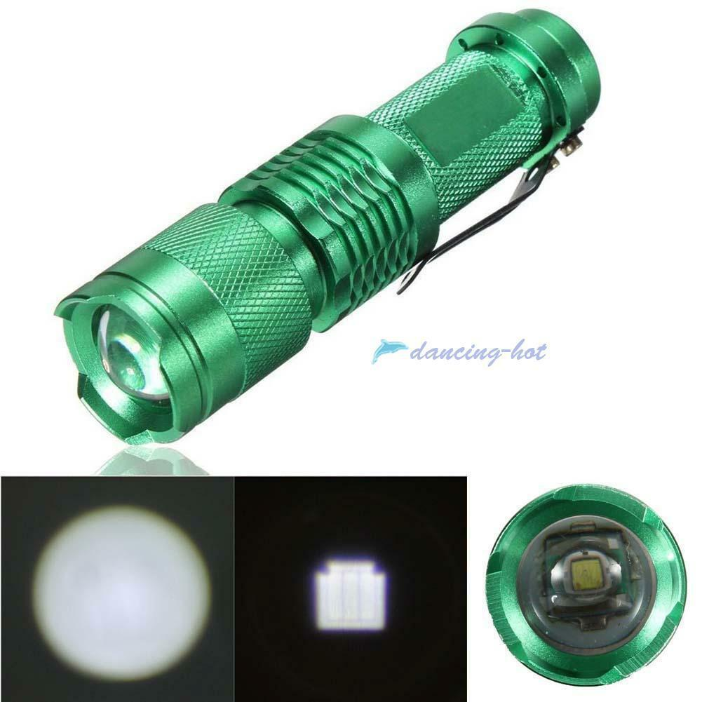 10000LM  X-XM-L T6 LED Zoomable Flashlight Torch Lamp Light 18650/AAA 5Mode #UP
