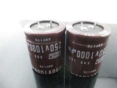10pcs NCC Nippon Chemi-Con KY 1000mfd 35V 1000UF electrolytic Capacitor caps