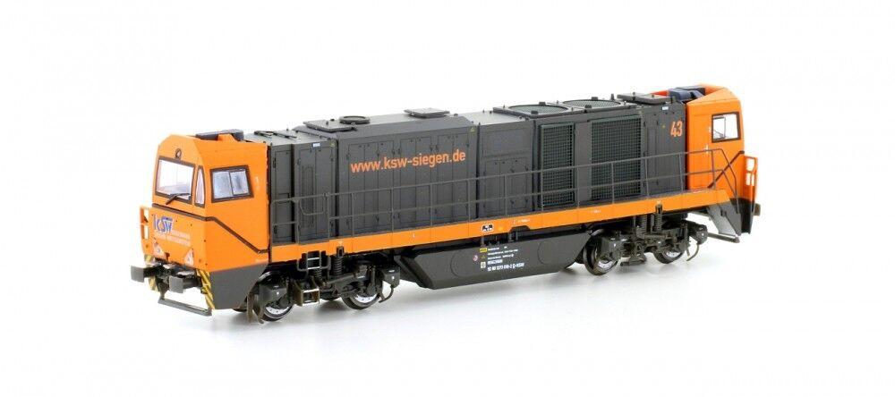 Mehano 58906 diesellok g2000 bb Asy. cabina siegener círculo ferrocarril novedad 2018