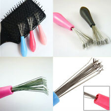 Hot Sale 1PC Cabinet Tool Comb Hair Brush Cleaner Pick Plastic Handle Brand New
