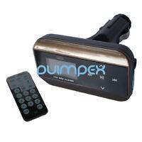 Neues Modell! KFZ MP3 Player FM Transmitter USB SD Slot