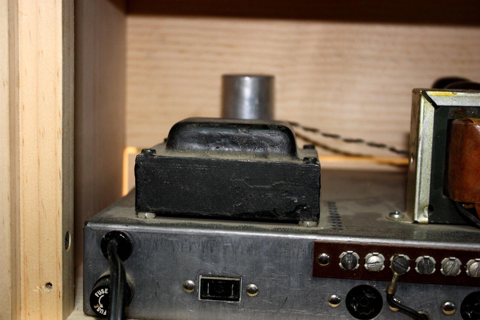 Armario Armario Armario de cabeza rawcabs para un Vintage CHB Challenger 35, 50 y 100 vatios amplificador d483bd