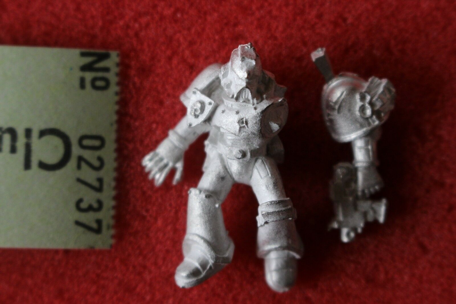 Games Workshop Warhammer 40k Space Marines Casualty Casualties New Metal Figure