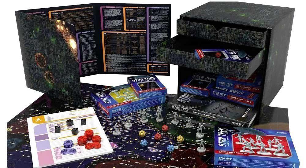 Star Trek Adventures-Borg Cube Collector's Edition  NEUF