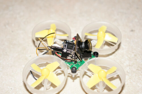 Tiny Whoop//Blade Inductrix Yellow Styrene Mullet Canopy For The Mullet Mod