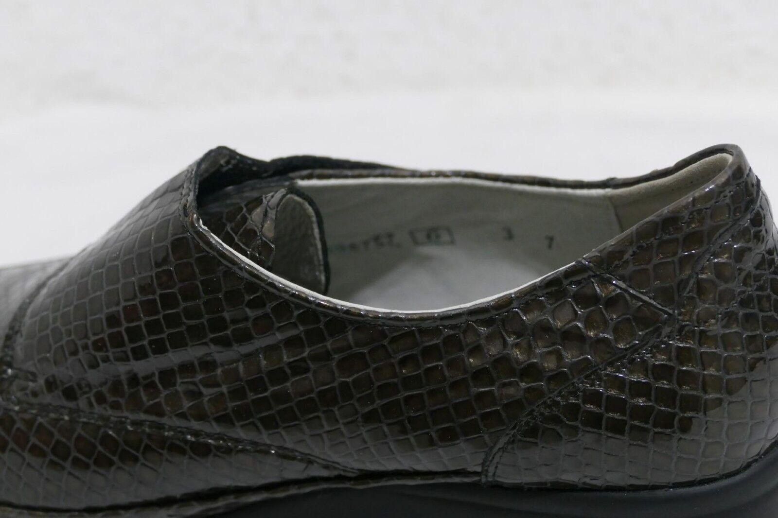 1040---Waldläufer UK 6 6 UK Gr 39 neu  Lackleder braun Schlangenoptik 178e5f