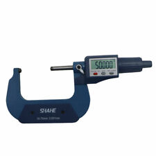 Shahe 50 75mm 0001mm Digital Tube Micrometer With Double Round Head Tube Gauge