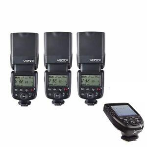 3-Godox-V850II-2-4G-GN60-Li-ion-Battery-Flash-Speedlite-Xpro-N-Trigger-For-Nikon