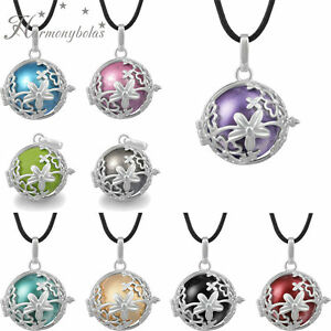 Pregnant women chain necklace angel caller music harmony ball image is loading pregnant women chain necklace angel caller music harmony mozeypictures Choice Image