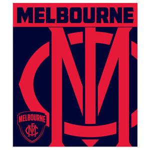 Image Is Loading Melbourne Logo Polar Fleece Throw Rug Blanket Soft