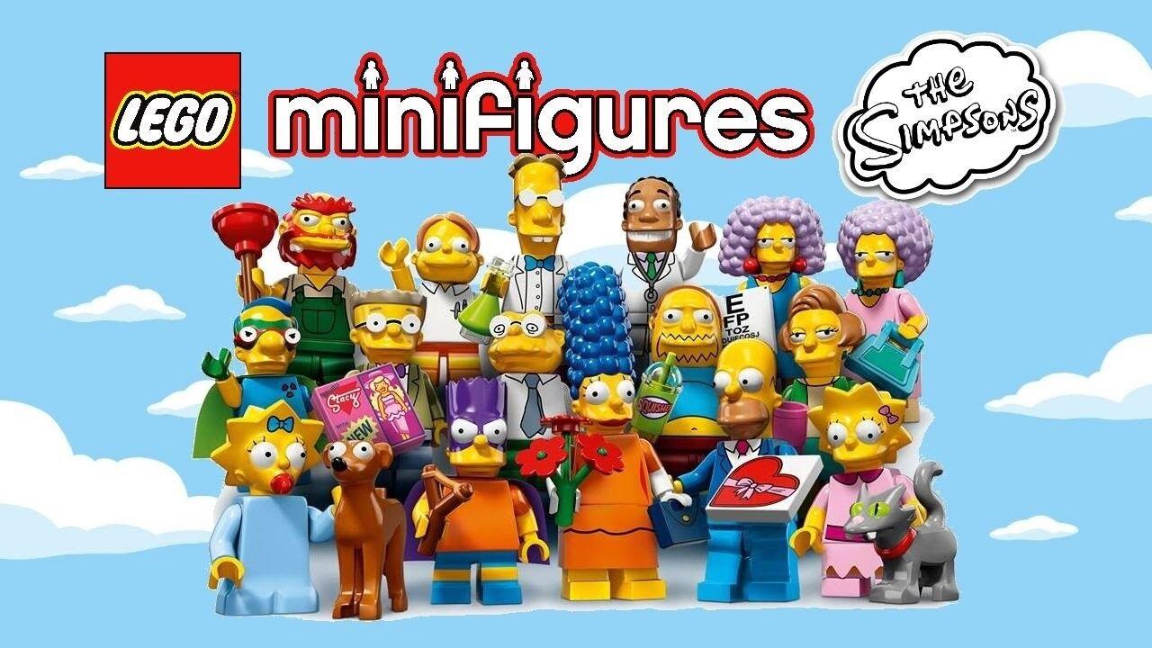 Lego Simpsons Serie 2 Komplett Satz von 16 Minifiguren 71009