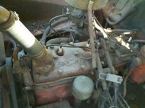 1947 Chrysler Windsor Spitfire Flathead 6 Cylinder Engine