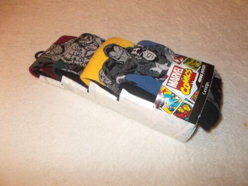 Socks 4 x Marvel The Avengers Socks Iron Man Hulk Captain Spiderman Size 6-8.5