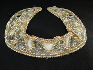 Image is loading Antique-Costume-Jewelry-Pearl-Choker-Necklace & Antique Costume Jewelry Pearl Choker Necklace | eBay