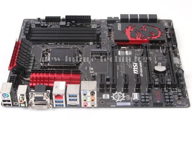 MSI Z87-GD65 GAMING Motherboard, LGA 1150, Intel Z87 Chipset, DDR3 Memory