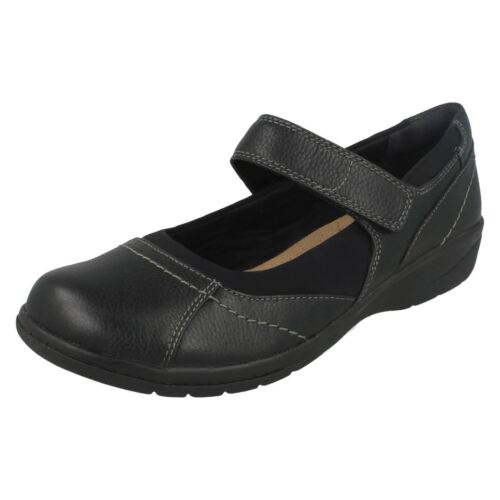 Zapatos Oscuro Cuero Negro De Marrón Mujer Web O Clarks Diario Cheyn cA8S8q0RT