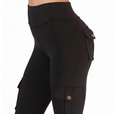 Printed High Waist Yoga Pants Women Push Up Running Fitness Gym Sport Leggings@