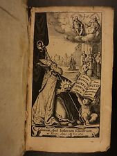 1646 Confessions of Saint Augustine Hippo Psalms Original Sin Sexuality Vellum