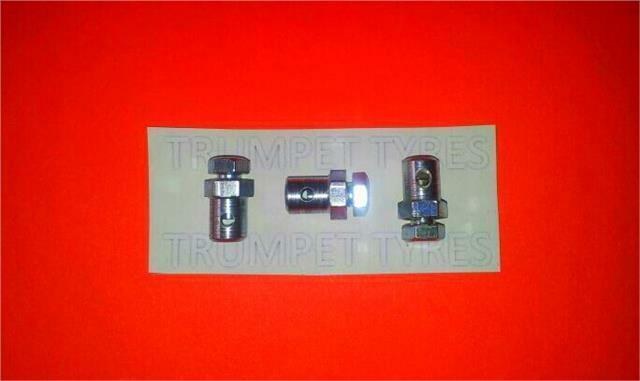 VESPA 90 SS Clutch & Gear Cable Trunnion Nipple Ferrule SET OF 3 VE127019