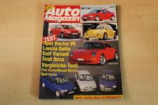 72382) Porsche 911 993 Carrera TechArt - Seat Ibiza GTi - Auto Magazin 02/1994