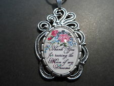 "THANK YOU FOR RAISING THE MAN OF MY DREAMS NECKLACE 20"" CHAIN MOTHER IN LAW"