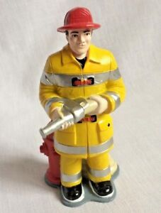 Fireman-Fire-Fighter-Vinyl-Figure-Doll-House-People-Pretend-Professionals-5-034