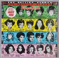 "ROLLING STONES 1978 Some Girls 12"" Vinyl 33 LP HYPE STICKER Shattered ROCK VG+"