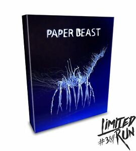 Paper Beast Collector's Edition PS4 PSVR Limited Run #384