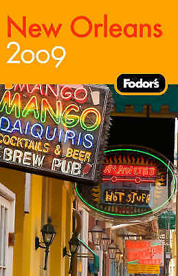 Fodor's New Orleans 2009, Fodor Travel Publications, New Book