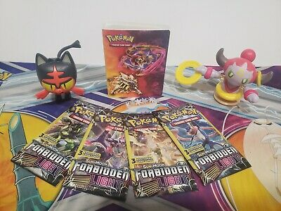 Pokemon Forbidden Light Sun /& Moon 3 Card Booster Pack New!