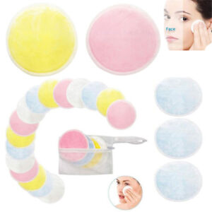 Reusable-Makeup-Remover-Double-Layer-Wipes-Facial-Cleanser-Pads-Washable-Cotton