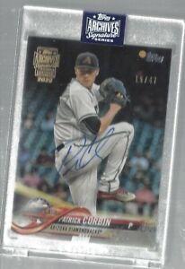 Patrick-Corbin-2020-Topps-Archives-Signature-Series-On-Card-Auto-47-MLB