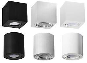 Aufbaustrahler-Deckenleuchte-PALERMO-Aufbauspot-LED-Leuchtmittel-Warmweiss-230V