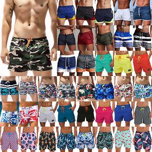 Mens-Swimming-Board-Shorts-Swim-Trunks-Summer-Beach-Sports-Sunbathing-Swimwear