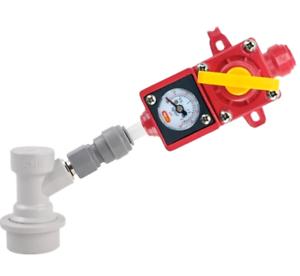 0-15psi Homebrew regulator Equipment Replacement Supplies Duotight Blowtie