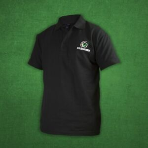 Official-Grassmen-Black-Polo-T-Shirt-Sizes-L-XL-Farming-Merchandise-Agriculture