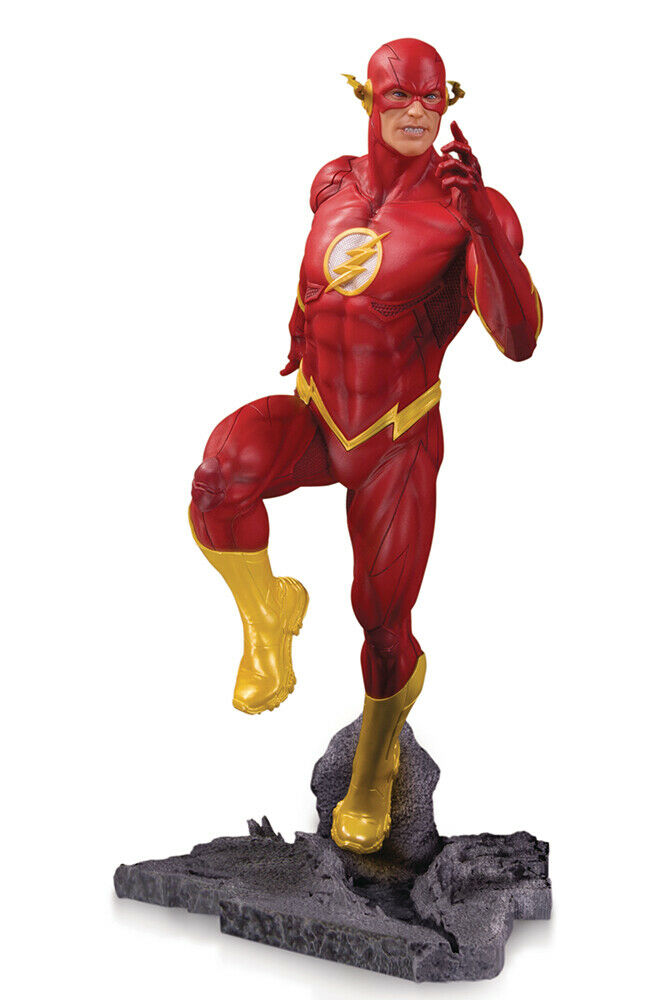 Dc Comics Collectibles  Dc Core The Flash Classic Statue By Jay Kushwara  prendre jusqu'à 70% de réduction
