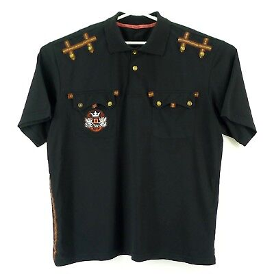 Red Ape Polo Shirt Mens Short Sleeve 4xl Gold Embellished To Adopt Advanced Technology Men's Clothing