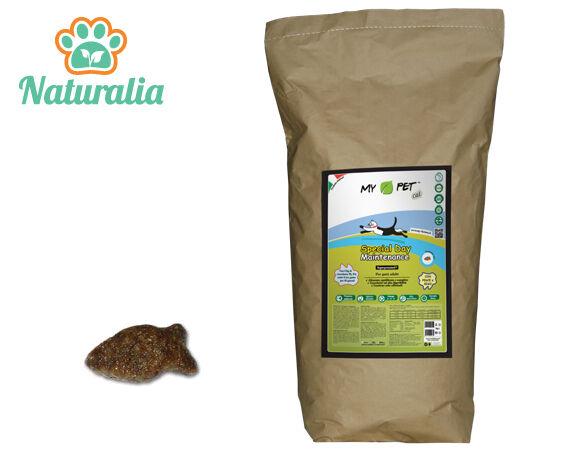 Crocchette naturali ipoallergeniche per Gatti MY PET MAINTENANCE PESCE 10 kg