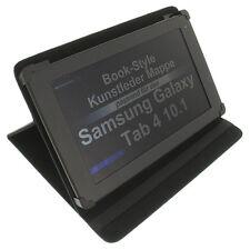 Sac pour Samsung Tab 4 10.1 Style Livre protection tablette Housse support Noir