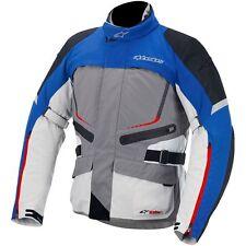 ALPINESTARS Valparaiso Drystar Motorcycle Touring Jacket (Grey/Blue/Red) XL