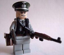 Lego Custom WW2 GERMAN OFFICER Minifigure Brickforge BrickArms WWII