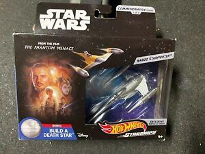 Hot-Wheels-Star-Wars-Starships-Commemorative-Series-Naboo-Starfighter-Metallic