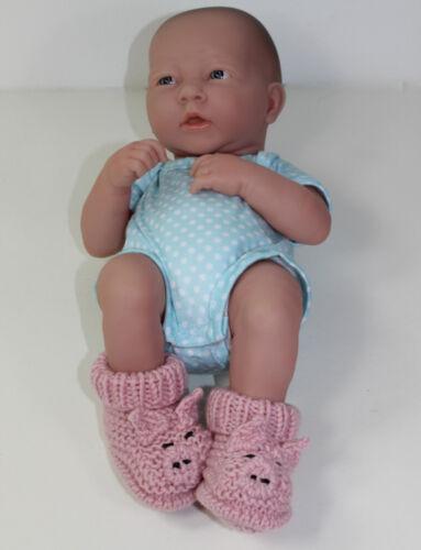 Impreso Knitting instrucciones-Preemie Piggy Botas Tejer patrón-Bebé Pequeño