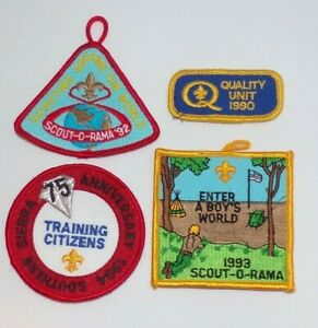 Lot-of-4-Misc-Boy-Scout-Patches