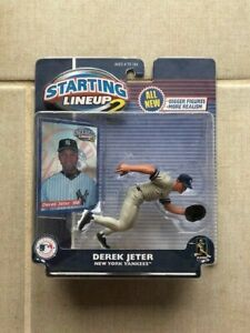 Starting Lineup 2 Derek Jeter New York Yankees Action Figure Brand New