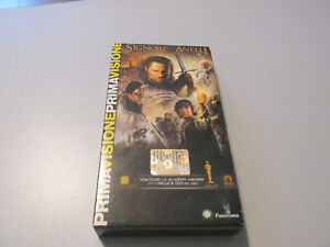 VHS Movie Sir of The Rings The Ritorno Del Re - Before Vision Panorama