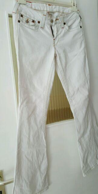 True religion jeans Damen weiß gr.28 gr.36 Made in USA top